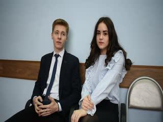 Мисс Гимназия 2019 интервью с Софьей Митрофановой