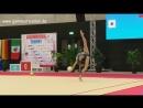 Ирина Анненкова - мяч многоборье МТ Люксембург 2018