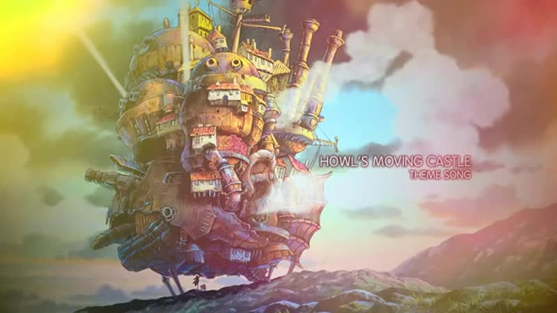 Howls Moving Castle [OST - Theme Song] (360p)