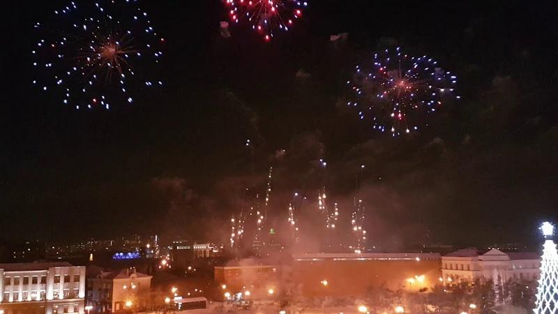 ФЕЙЕРВЕРК Иркутск с наступающим с Новым Годом 2019 🎂 🌺🍰 🌐 🎆 🎁 🎈 🎄