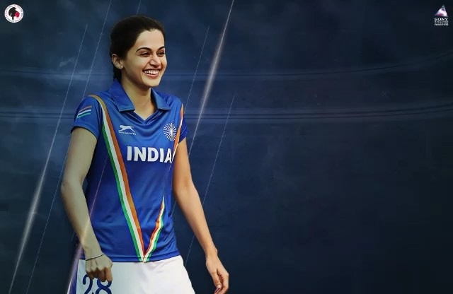 """Taapsee Pannu on Instagram """"For my undying love for sports and my country...... Meet Harpreet aka Preet – a person who believes in pushing boundar..."""