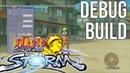 Naruto Ultimate Ninja Storm Official DEBUG Build Developer menu