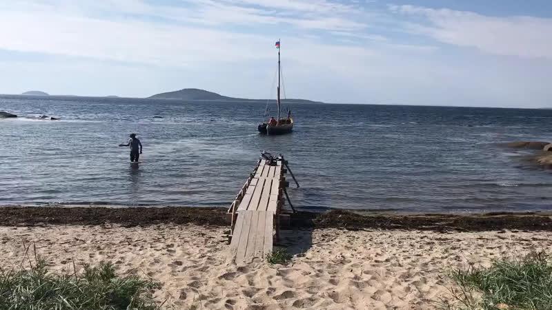 Белое море. Июль-август 2018.