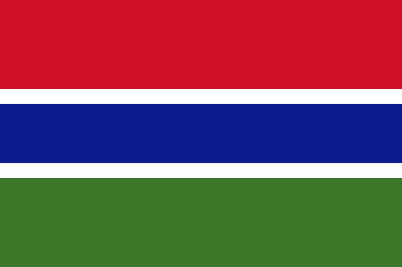 Флаг Гамбия