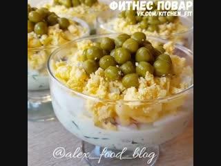 Легкий салатик: фитнес повар