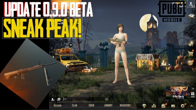 Update 0.9.0 Beta download link Sneak Peek QBU M762 inside Pubg Mobile