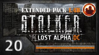 СТАЛКЕР Lost Alpha DC Extended pack 1.4b. Прохождение #20. Артефакт