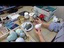 Воздушный шар из старой лампочки, новогодняя елочная игрушка мастер-класс Натальи Климентьевой