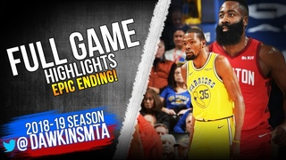 Golden State Warriors vs Houston Rockets Full Game Highlights | January 3, 2019 | FreeDawkins