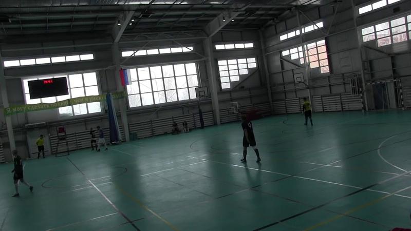 ФК «Crystall streеt» - ФК «Интер» - 1 тайм