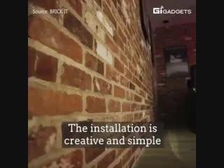 Настоящий кирпич на стене - Заметки строителя