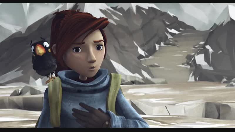 - Как ты думаешь, повезёт Йети (Отрывок из мультфильма В поисках Йети).