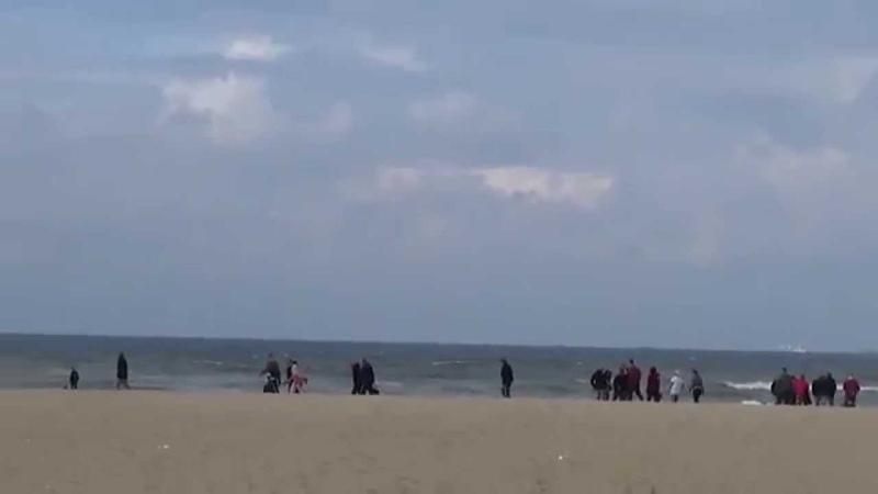 Северное море - Схевенинген (пригород Гааги)