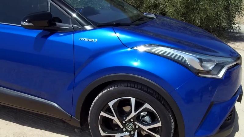 Обзор подержанного Toyota C-HR _ гибрид глазами владельца
