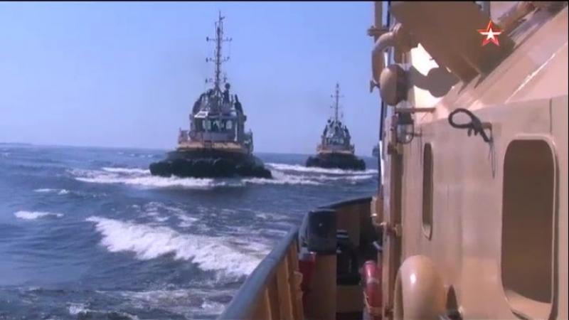 Корабли СФ прибыли на Балтику для участия в главном параде ВМФ