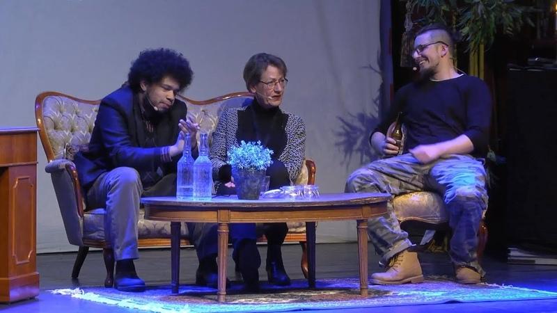 Angry Foreigner (Arg Blatte Talar) i Sjuk Debatt med Gudrun Schyman