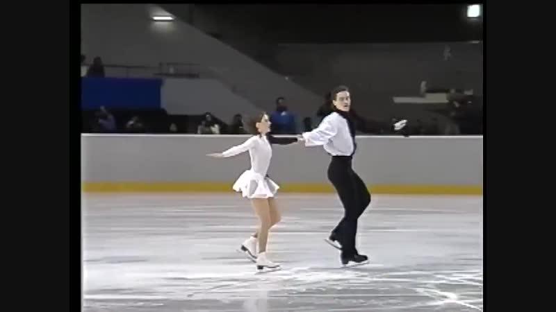 Ekaterina Gordeeva and Sergei Grinkov Requiem 1995 Challenge of Champions