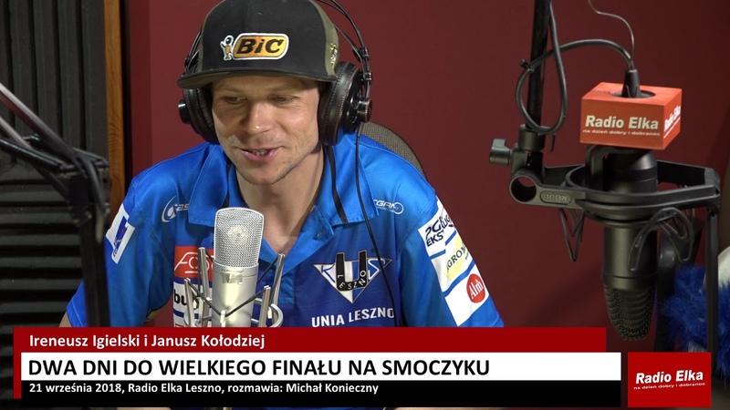 Janusz Kołodziej przygotowany do wielkiego finału