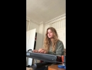 Girl in Red Piano
