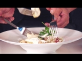 Готовим картофельные клецки с зажаркой в сливочно-сметанном соусе!