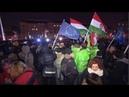Венгрия протестующие не сдают улицы 14.12.18
