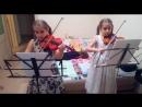 Моцарт Песня пастушка (Лиза,Соня,7 лет)