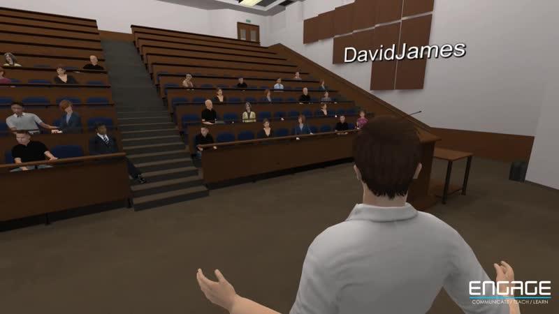 ENGAGE Виртуальное пространство для учебы и работы!