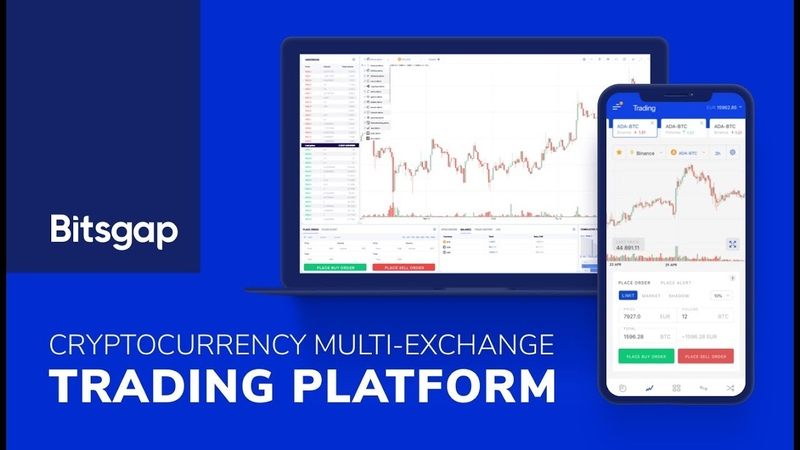 Bitsgap Cryptocurrency multi exchange trading and asset management tool