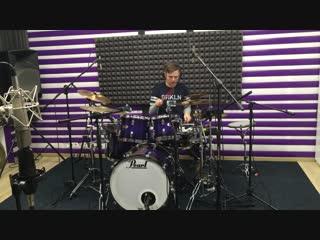 Запись барабаннов!В студии Nerv-R