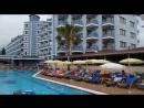 CARETTA BEACH HOTEL ALANYA 11.06.2018 HAVUZDA KÖPÜK PARTİSİ