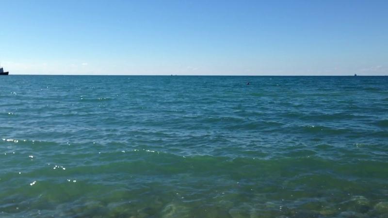 Чёрное море. Бесплатные футажи