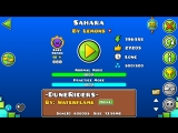Geometry Dash-Sahara By Lemons