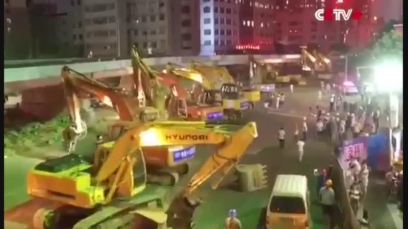 Это невероятно! В Пекине за 43 часа-был сломан старый и построен новый автомоби
