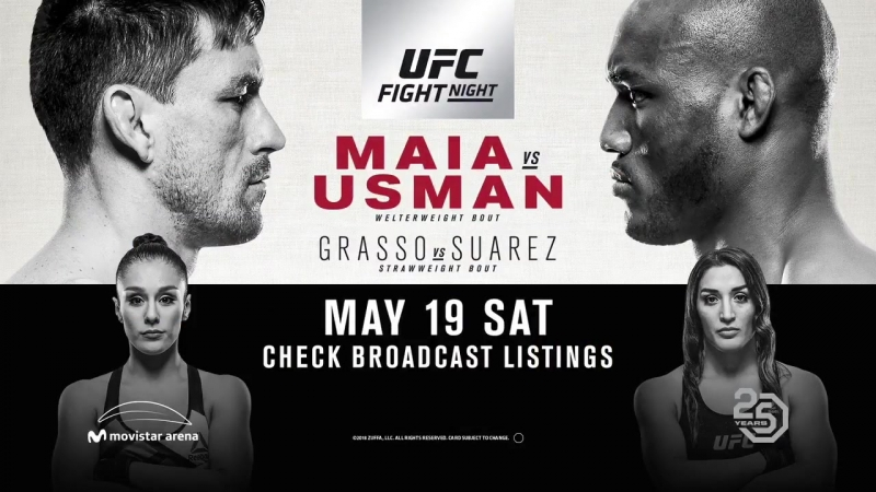 Thrilling strawweight co-main at UFCChile, @AlexaGrasso battles undefeated @TSPMMA115. - - How does it go down