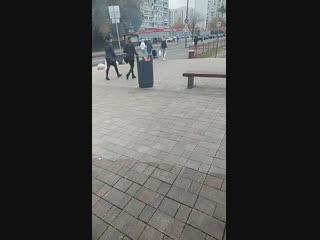 Мощнейший пожар в Братеево. ШОК! 21.10.2018