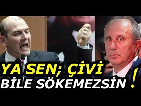 Süleyman Soylu'dan Muharrem İnce'ye Apolet Raconu; Ya Sen Daha...