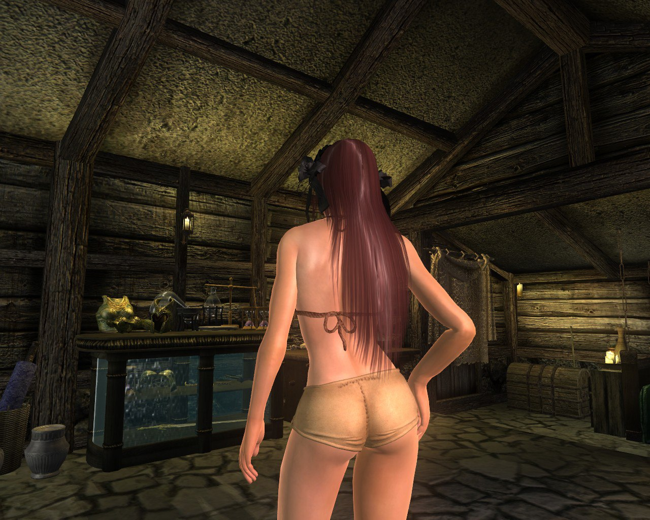 Oblivion nude mod for patches