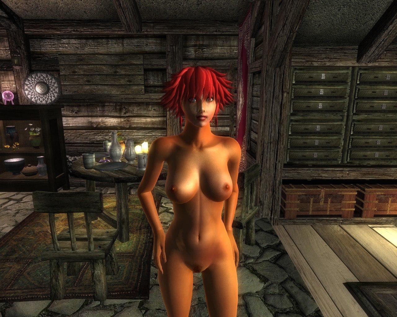 Oblivion eye candy nude mod smut wifes