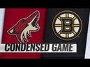Arizona Coyotes vs Boston Bruins | Dec.11, 2018 | Game Highlights | NHL 2018/19 | Обзор матча