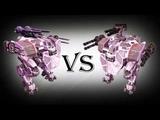 Lancelot (avenger,punisher) Vs Lancelot (tempest,molot) Test War Robots