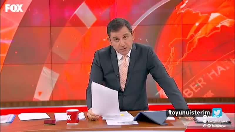 10 Ocak 2019 Fatih Portakal ile FOX Ana Haber