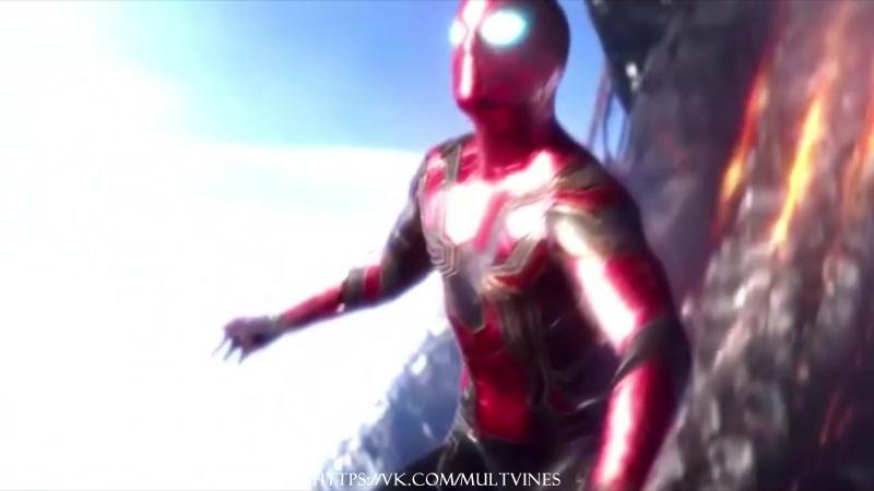Человек Паук Spider Man The Flash Флэш