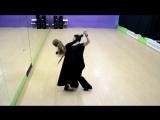 Европейские бальные танцы, медленный вальс.