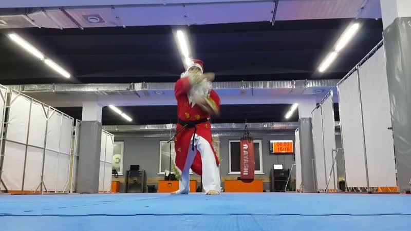Дед Мороз - каратист