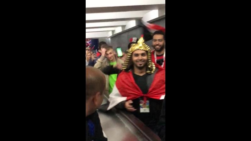 РОССИЯ-ЕГИПЕТ,перед матчем ,Даю шанс египтянам покричать,заряжаю их и далее смотрите..))