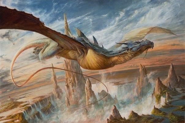 Сэм Бёрли (Sam Burley) молодой, талантливый художник в стиле фэнтези и его работы. Или Когда старые боги