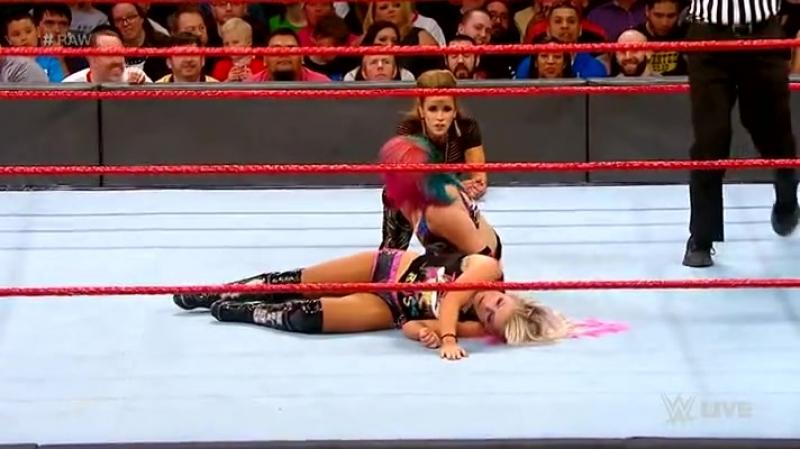 WWE.RAW.2018.03.19.Alexa Bliss vs. Asuka