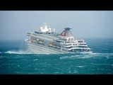 Cruise Ship Caught in Hurricane Storm Inside Cabin CCTV