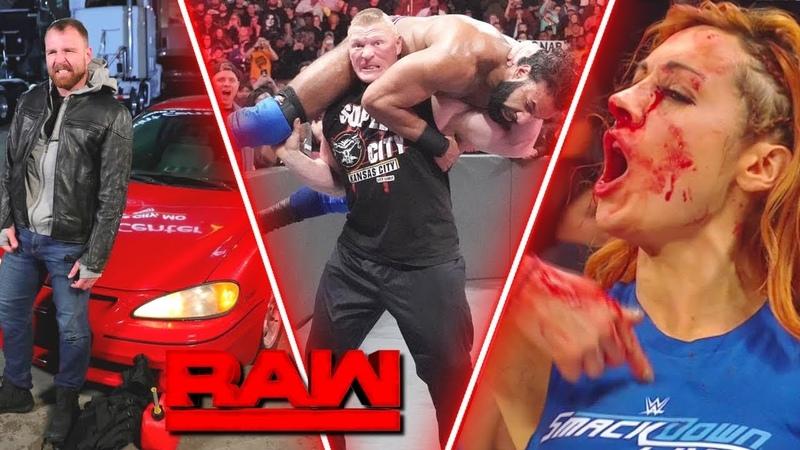 WWE RAW Highlights 12th November HD - WWE Monday Night RAW Highlight 11-05-18 HD