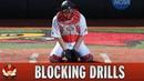 Catching 101 - Baseball Catcher Blocking Drills